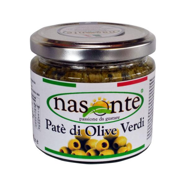 28 pate' di olive verdi