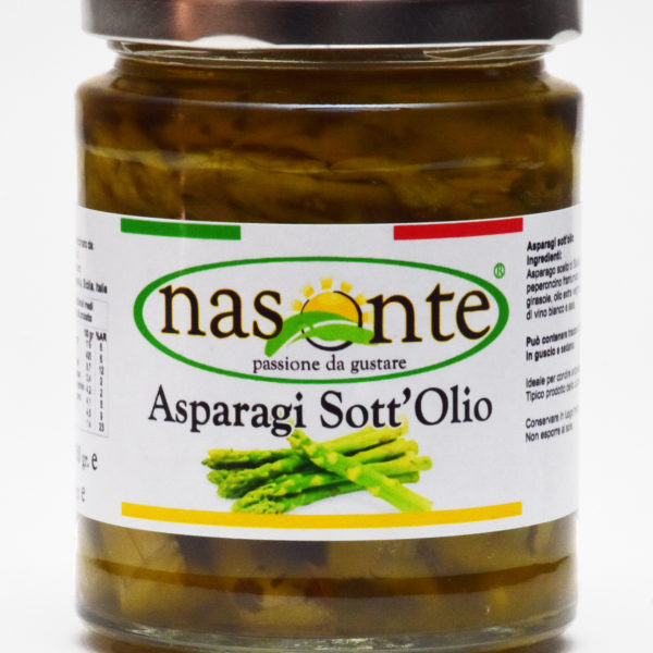 Asparago Sott'olio 280 g.