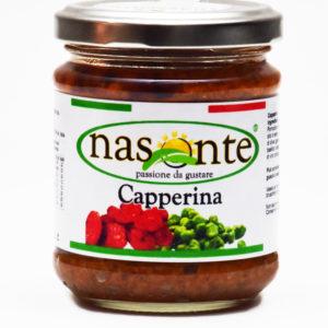 Capperina Mix Pomodoro Secco e Capperi 190 g.