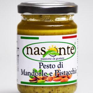 PESTO DI MANDORLE E PISTACCHIO