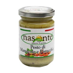 PESTO DI MANDORLE E PISTACCHIO_