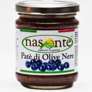 Pate' di Olive Nere 190 g.