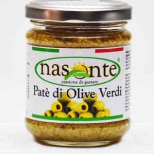 Pate' di Olive Verdi 190 g.