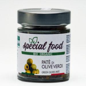 pate di olive verdi
